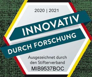 Gütesiegel Stifterverband Forschung und Entwicklung