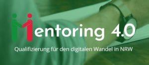 Mentoring 4.0 Logo und Catchphrase