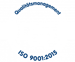 DQS Logo Qualitätsmanagement ISO 9001:2015