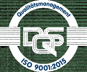 DQS Logo Qualitätsmanagement ISO 9001:2015